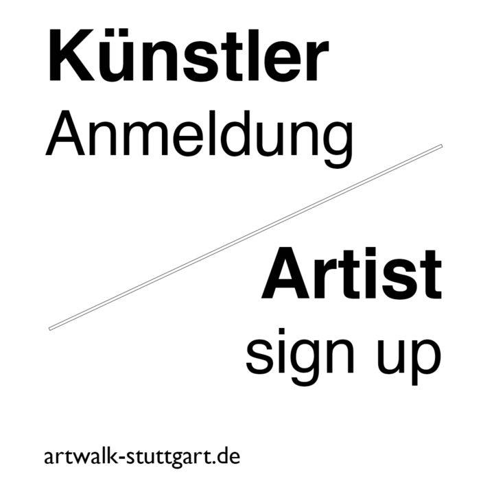 Künstler Anmeldung